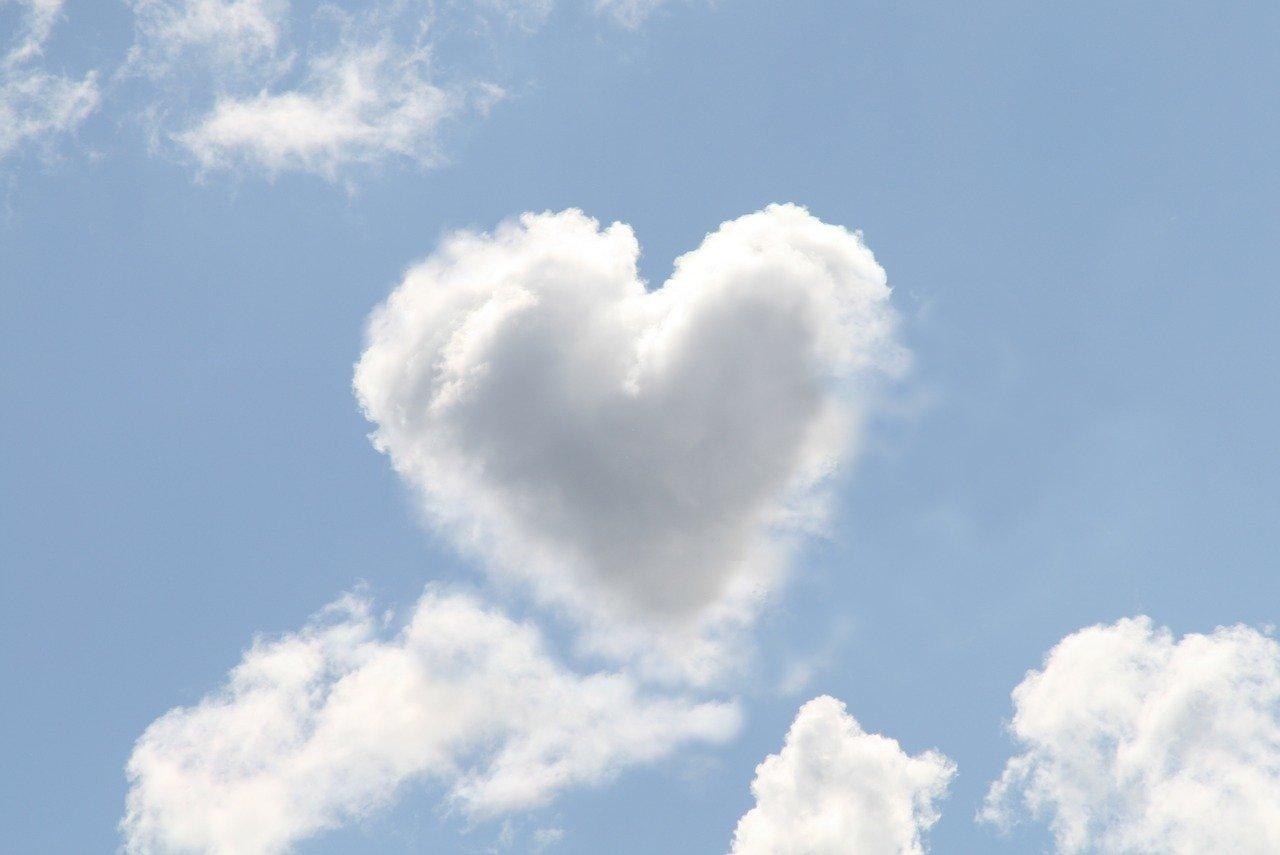 Herzwolke als Sinnbild für Herzintelligenz