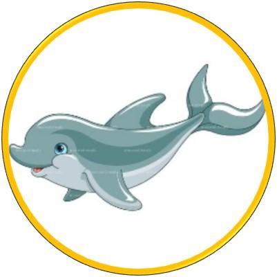 Abbildung Delfin als Sinnbild für die Delfinstrategie und das innere Kind