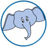 Elefantenkopf als Sinnbild für das Erwachsenen-Ich in der Transaktionsanalyse