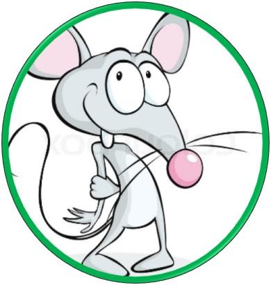 Maus als Sinnbild für das angepasste innere Kind