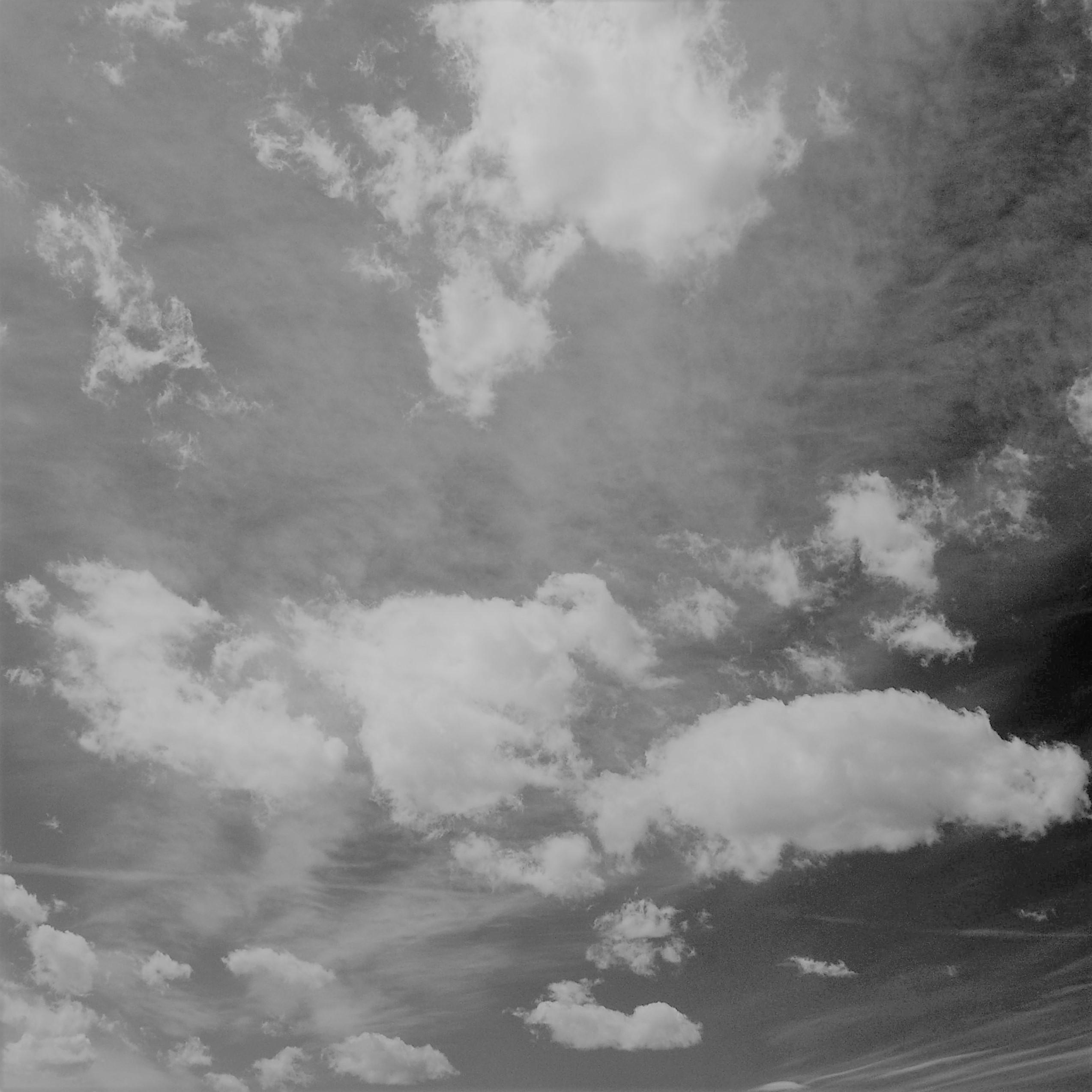 Wolken am Himmel ls Sinnbild für einen Motivationsspruch